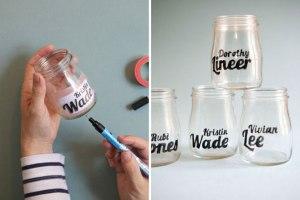 glassware + typography