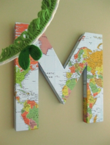 map letter